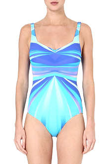 GOTTEX Seraphine square-neck swimsuit