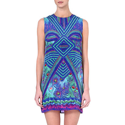 GOTTEX Victoire silk short dress (Multicolour