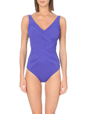 GOTTEX Lattice swimsuit