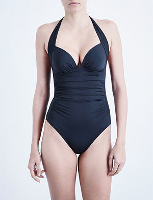 JETS BY JESSIKA ALLEN Journey halterneck swimsuit