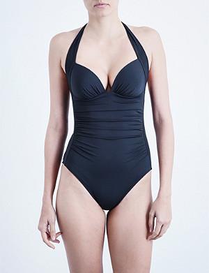 JETS BY JESSIKA ALLEN Journey halterneck swimsuit