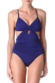JETS BY JESSIKA ALLEN Lustre cross swimsuit