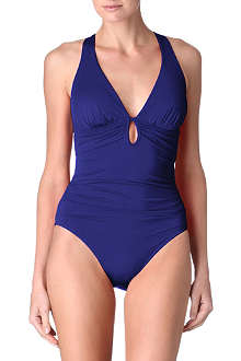 JETS BY JESSIKA ALLEN Plunge criss-cross back swimsuit