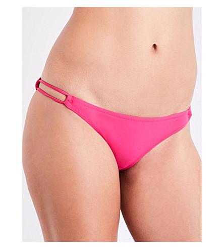 HEIDI KLEIN Antigua Double String bikini bottoms (Hot+pink