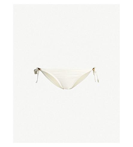 HEIDI KLEIN Côte d'Azur rope bikini bottoms (Cream