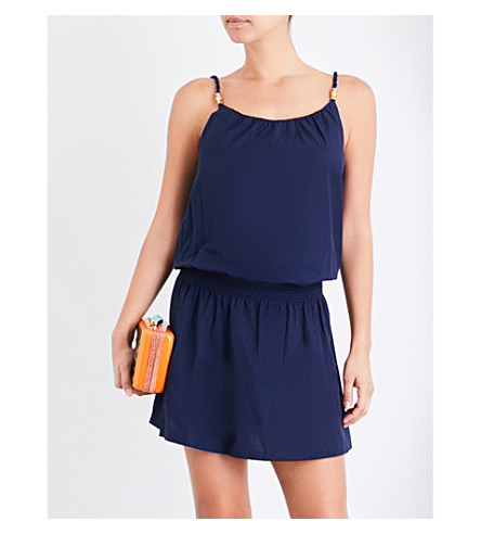 HEIDI KLEIN Hamptons woven smock dress (Navy