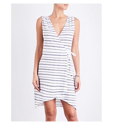 HEIDI KLEIN Nassau jersey wrap dress (Stripe