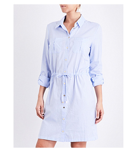 HEIDI KLEIN St. Barths cotton shirt dress (Chambray