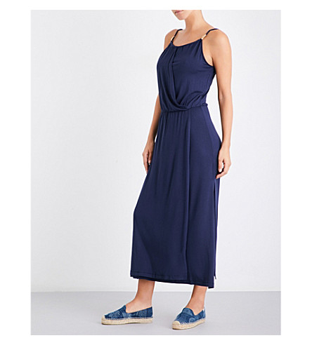 HEIDI KLEIN Cote Sauvage maxi dress (Navy
