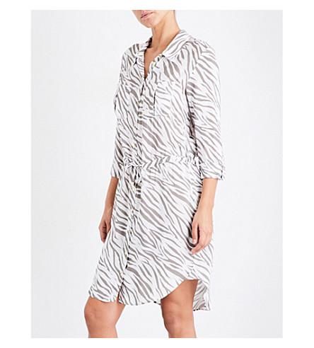 HEIDI KLEIN Kalahari woven shirt dress (Print