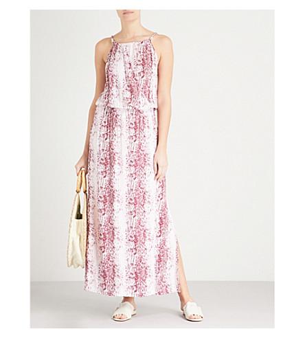 HEIDI KLEIN Monaco woven maxi dress (Print