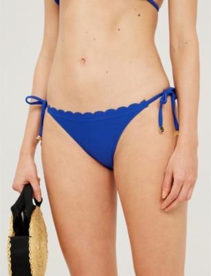 Amoudi Bay scalloped bikini bottoms