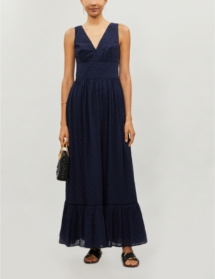 New Haven cotton maxi dress