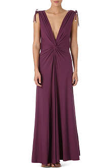 HEIDI KLEIN Twist-front maxi dress