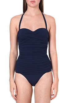 HEIDI KLEIN Ravello ruched swimsuit