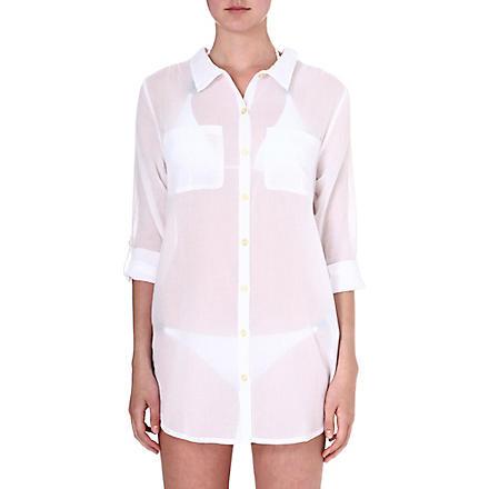 HEIDI KLEIN Martinique oversized shirt (Wht-martinique
