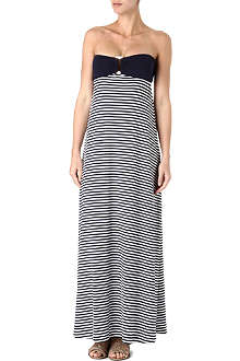 HEIDI KLEIN Sete bandeau maxi dress