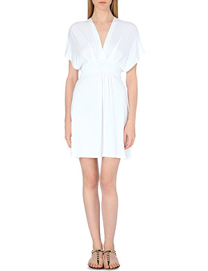 HEIDI KLEIN Batwing sleeve jersey cover-up