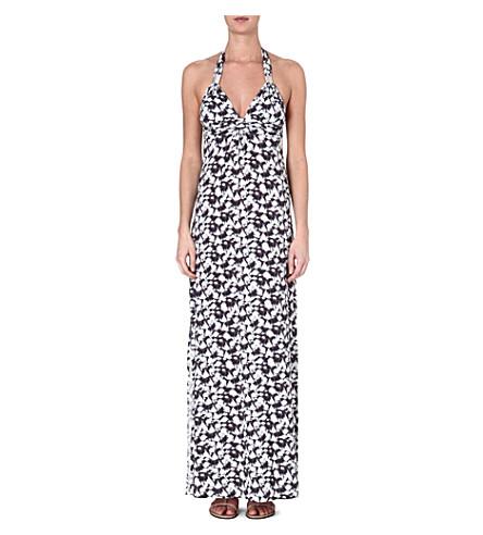 HEIDI KLEIN Caicos ruched maxi dress (Prt-caicos