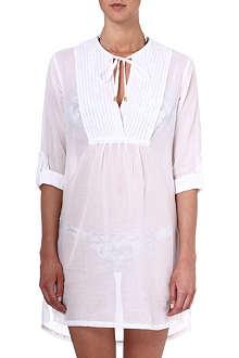 HEIDI KLEIN Seville pin-tuck shirt