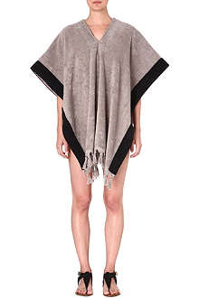 LISA MARIE FERNANDEZ Cotton-terry beach poncho