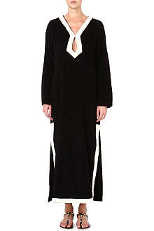 LISA MARIE FERNANDEZ Long terry keyhole tunic