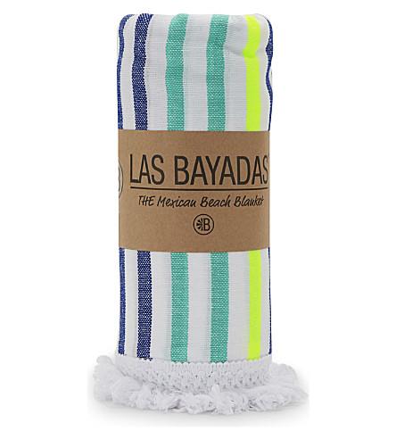 LAS BAYADAS La Madai cotton beach towel (La+madai