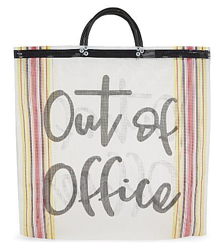 LAS BAYADAS Out of office tote (El caricitos