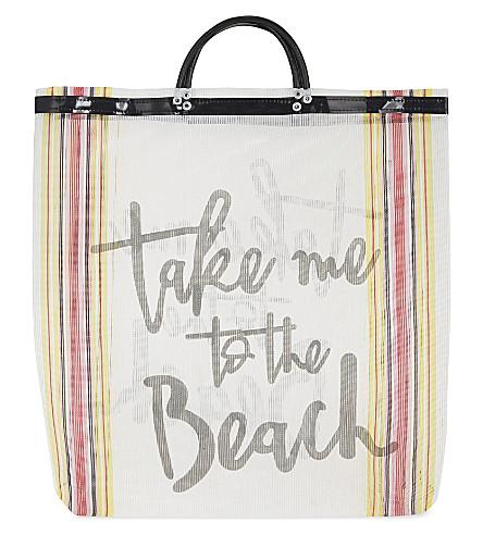 LAS BAYADAS El Tulum beach tote (El+tulum