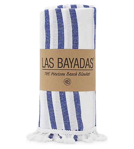 LAS BAYADAS La Tina cotton beach towel (La+tina