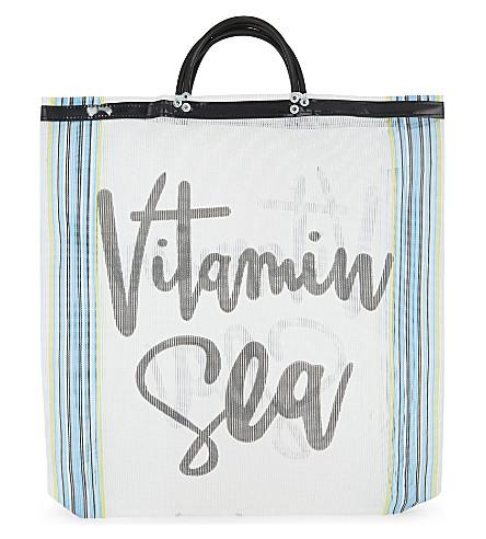 LAS BAYADAS El Carmen beach bag (El+carmen