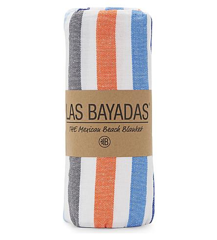 LAS BAYADAS La Maricruz cotton beach towel (La+maricruz