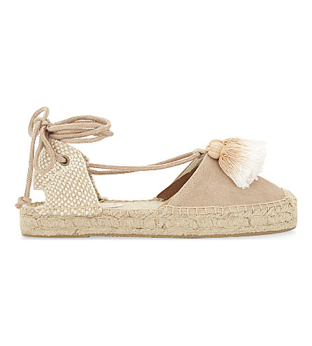 SOLUDOS Platform gladiator sandals (Cream+120