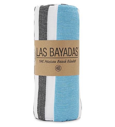 LAS BAYADAS La Raquel cotton beach towel (La+raquel