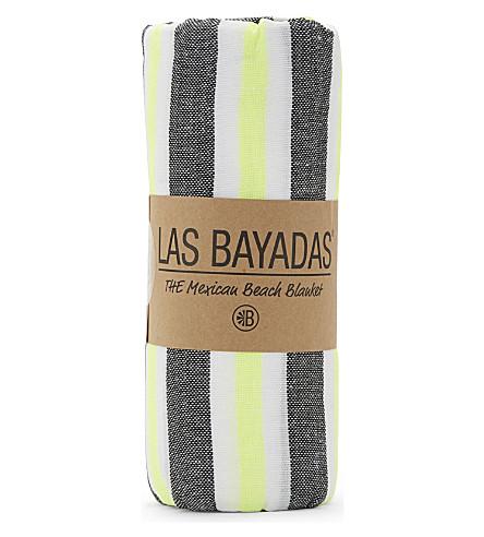 LAS BAYADAS La Daniela cotton beach towel (La+daniela
