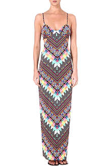 MARA HOFFMAN Divine cut-out maxi dress