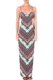 MARA HOFFMAN Divine cut-out maxi dress