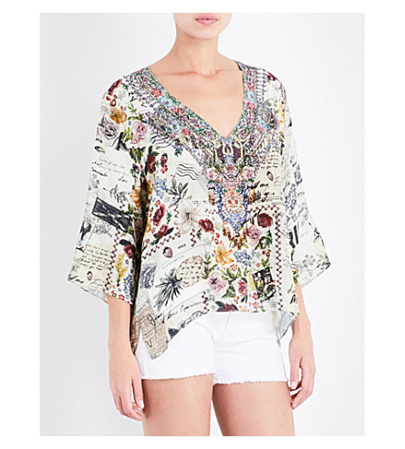 CAMILLA Memory lane silk blouse (Memory+lane