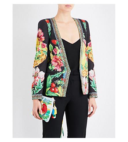 CAMILLA Call Me Carmen fuit and floral-print twill jacket (Call+me+carmen