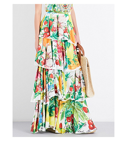 CAMILLA No Place Like Rio woven skirt (No+place+like+rio