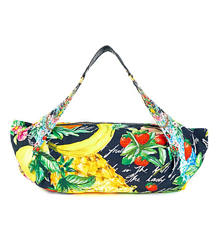 CAMILLA Call Me Carmen cotton-blend beach bag (Call+me+carmen