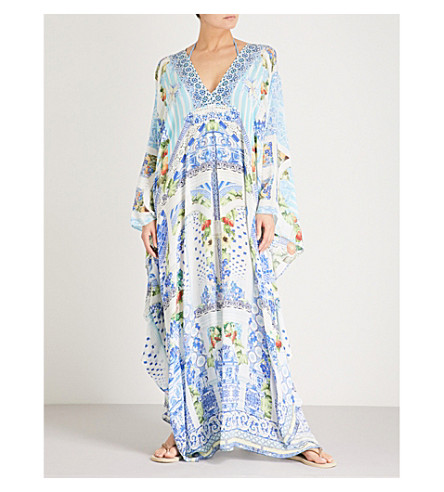 CAMILLA A Night To Remember silk kaftan (A+night+to+remember