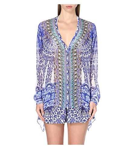 CAMILLA Nierika silk blouse (Nierika