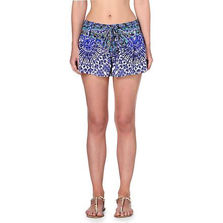 CAMILLA Nierika silk shorts (Nierika