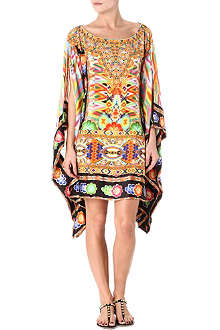 CAMILLA Bordered kaftan dress