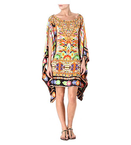 CAMILLA Bordered kaftan dress (Jakima