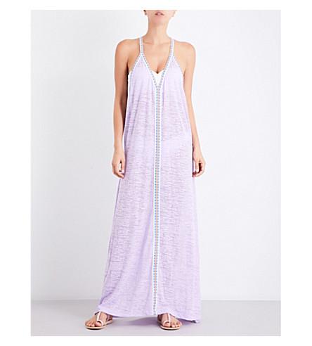 PITUSA Inca jersey maxi sundress (Lavender