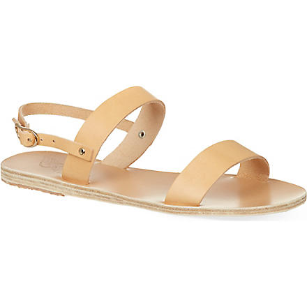 ANCIENT GREEK SANDALS Clio sandals (Natural