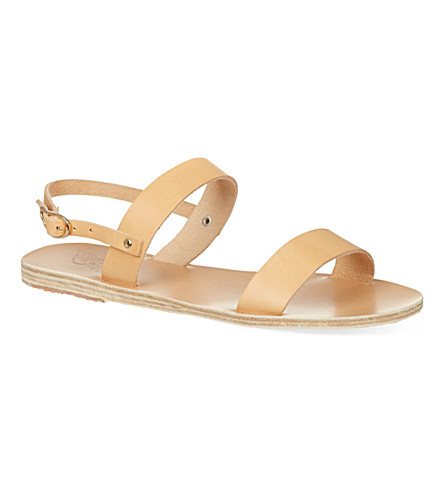 ANCIENT GREEK SANDALS Clio sandals (Natural