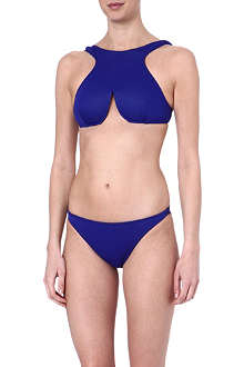 DION LEE Purity neoprene bikini